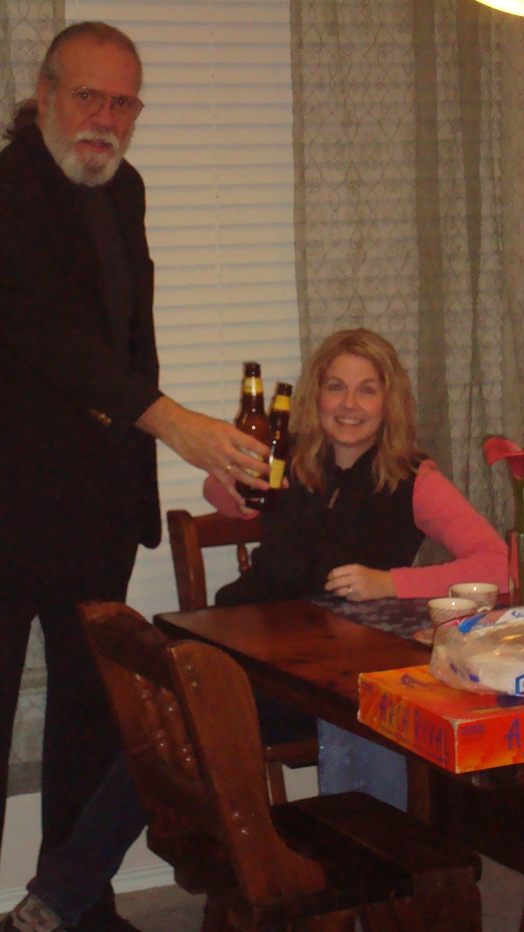A little bit of beer with Heather and Demetrios