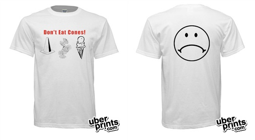 cones-t-shirt