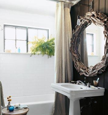 LOVE this bathroom mirror!
