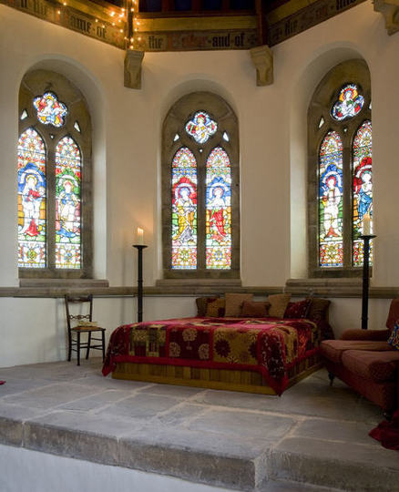 church bedroom