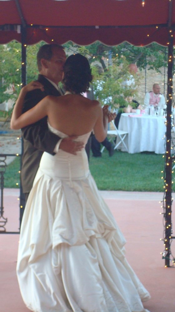 Father Daughter Dance, during which my Uncle Larry was crying