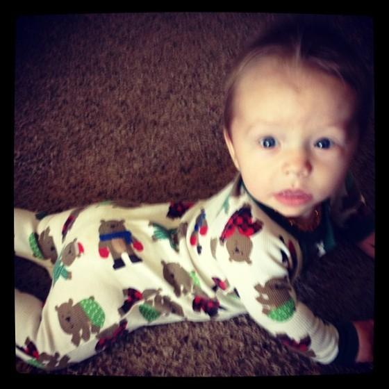 AJ, 7 months