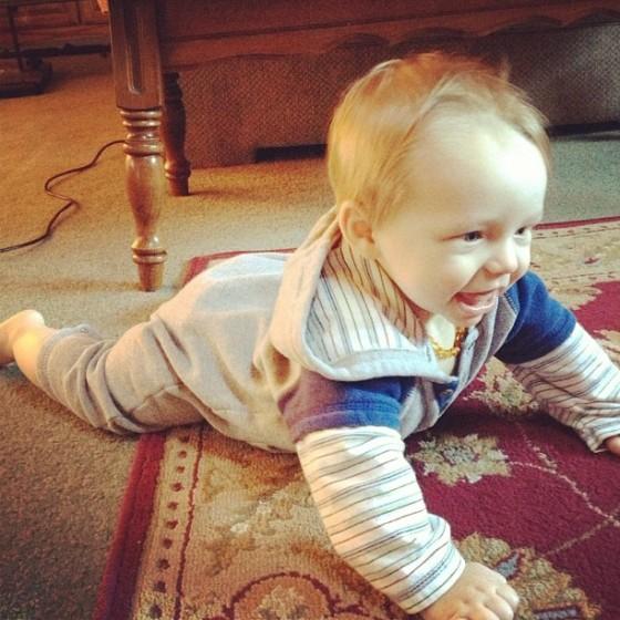 AJ crawling