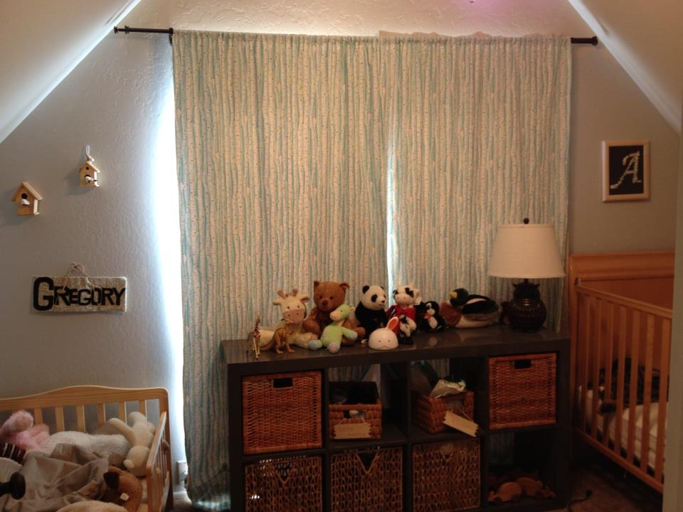 Gregory and Anthony's curtains