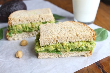 Chickpea avocado
