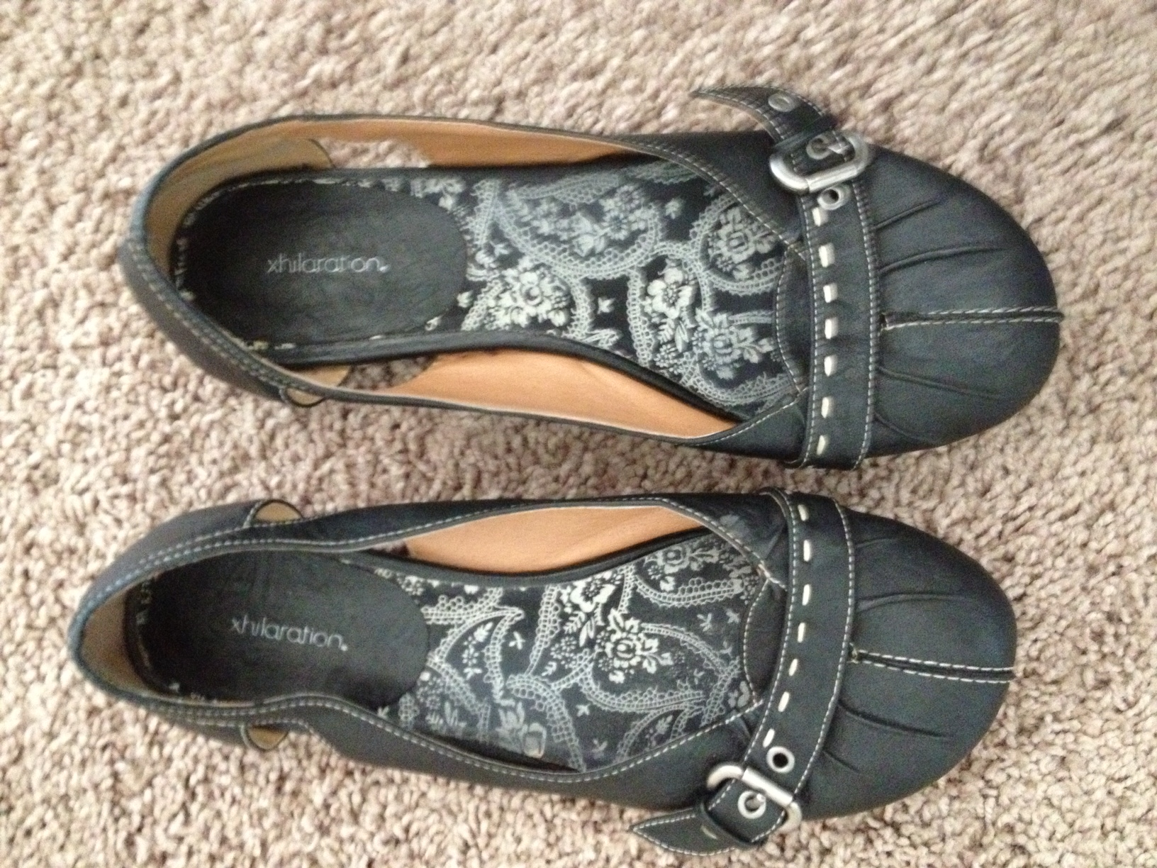 I got these shoes. Funny story-- I had the exact same pair when I lived in Dallas. They were so comfy, I wore them nonstop for almost 2 years. I wore them until there were holes in the soles and I had to throw them out! These were the same ones in my size, so I went ahead and got them, in case I can get another year or two of use from them :) Would've been $2