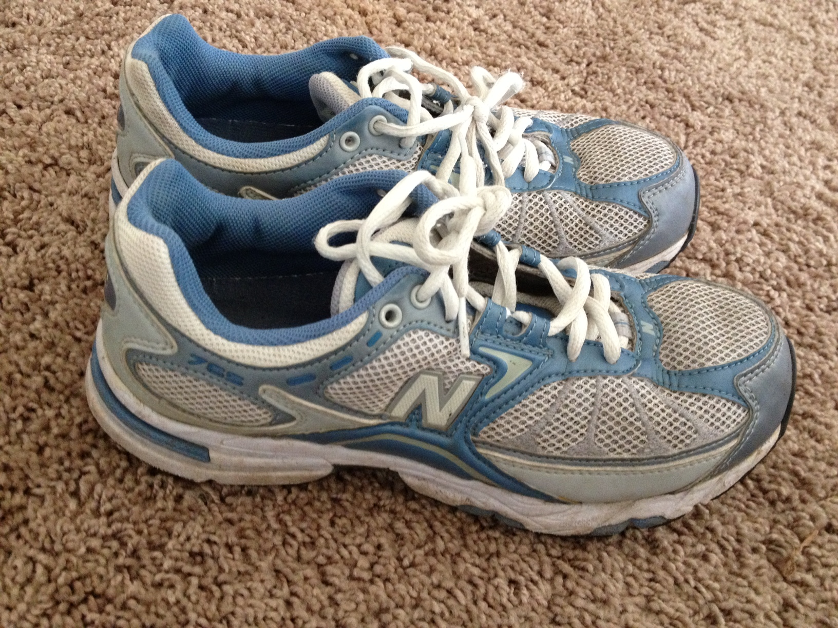 All I got were these like new running shoes-- get ready...25 cents!!! The lady was totally giving away her stuff