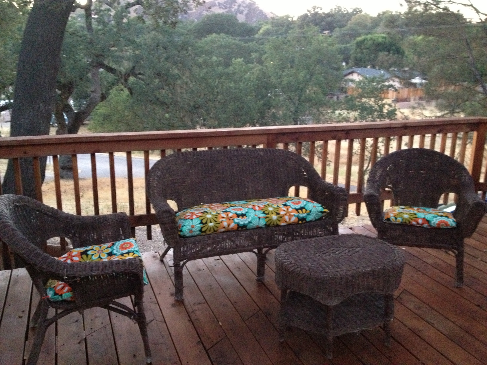 Deck Furniture Upholstered