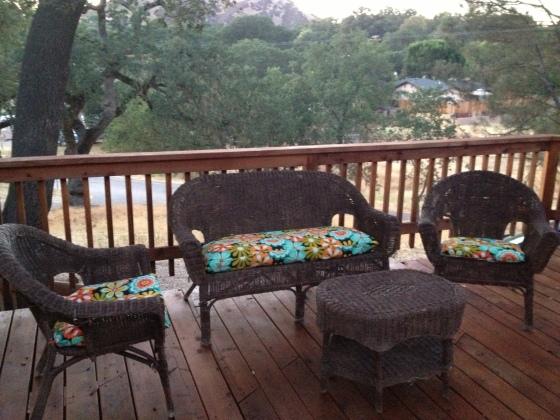 Deck Furniture Upholstered