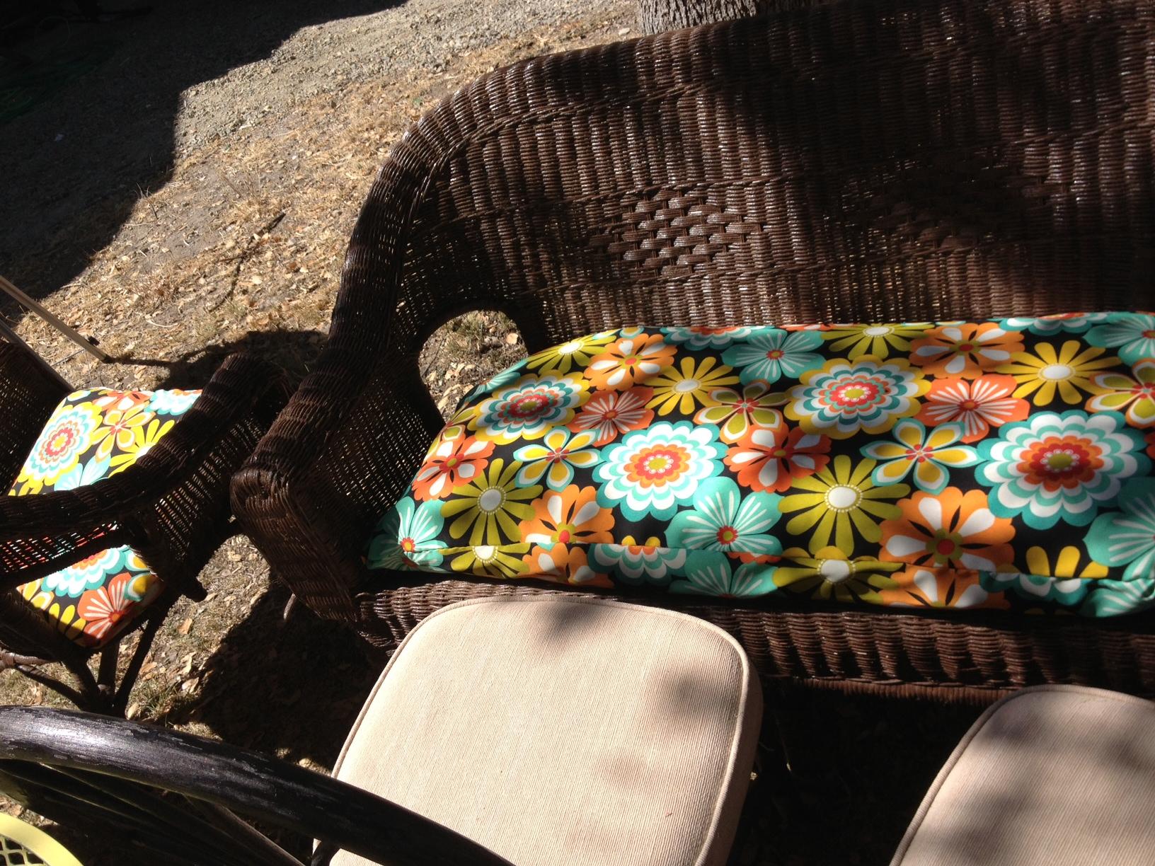 Patio Slipcover bench