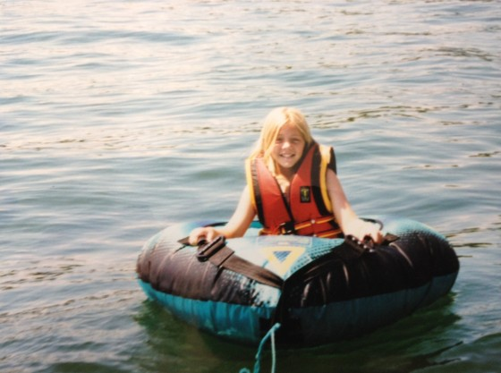 12-13 years old, inner tubing