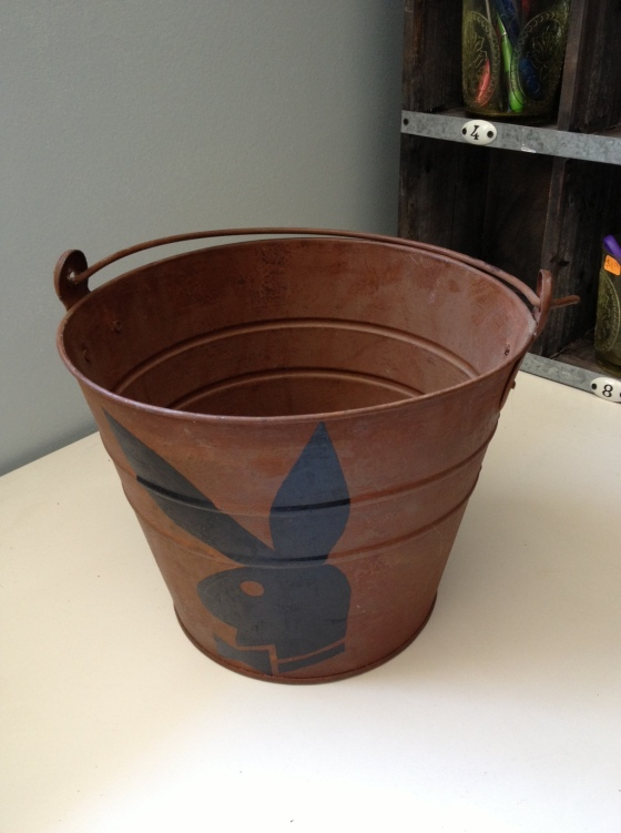 Nothing says vintage bucket like....what???