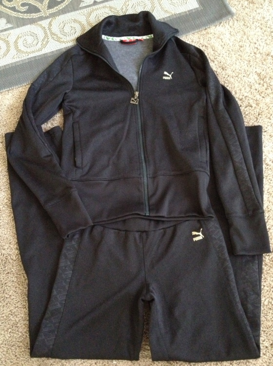 A brand new womens' Puma track suit! $2!!!