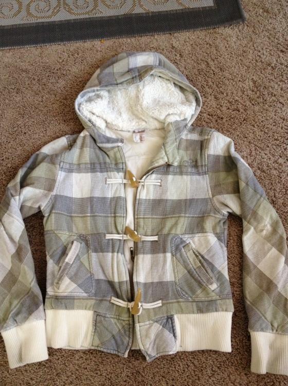 An Oneill Sherpa Jacket, $1!