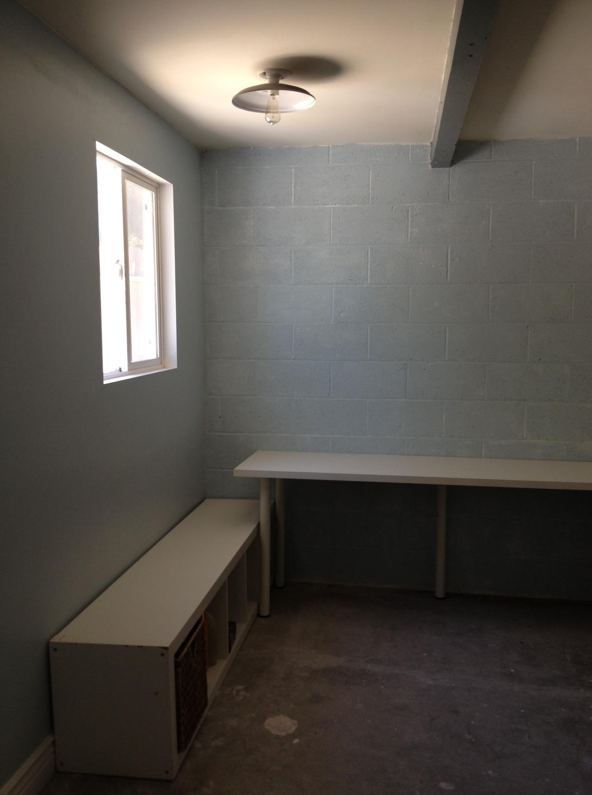 Laundry Room Progress 2