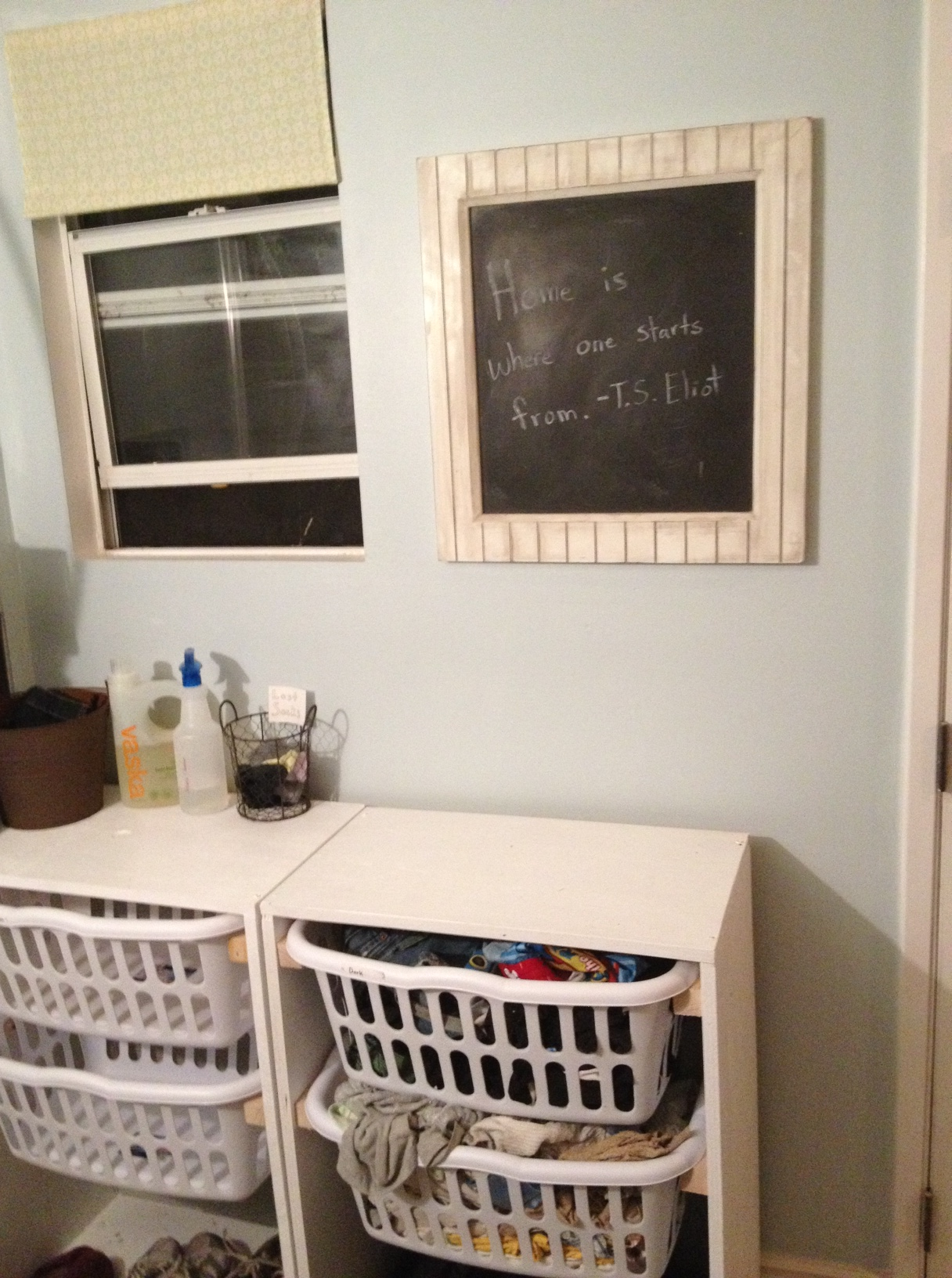another laundry room update almost done slow for the cone zone. Black Bedroom Furniture Sets. Home Design Ideas