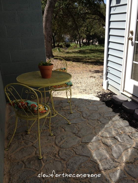 Patio Project 6