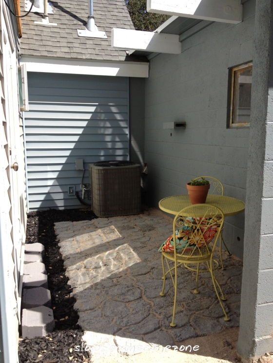Patio Project 8