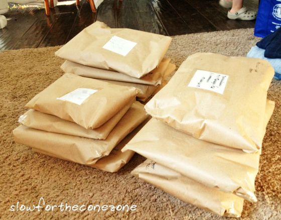 eBay packages for blog