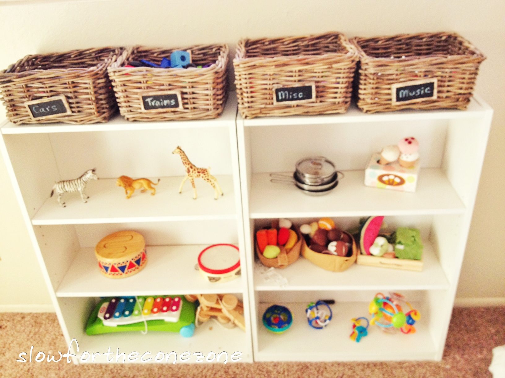 Montessori Inspired Playroom Our Cone Zone