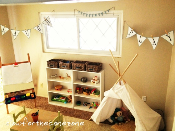 Montessori-Inspired Playroom